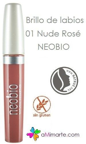 Brillo LABIOS - 01 Nude Rose - NEOBIO